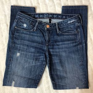 Earnest Sewn Harlan Destructed Ankle Skinny Jean